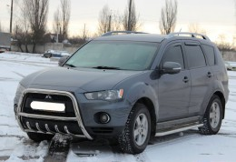Кенгурятник Mitsubishi Outlander 2010-2012 d60 WT Special Model