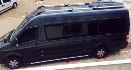 Рейлинги Mercedes Sprinter SHARK