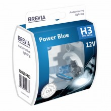 Автолампы Brevia H3 Power Blue 2шт 12030PBS