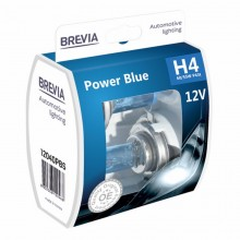 Автолампы Brevia H4 Power Blue 2шт 12040PBS