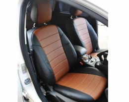 Авточехлы из экокожи Volkswagen Golf 5 с 2003-2008г. хэтчбек Автолидер