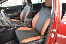 Авточехлы из экокожи Volkswagen Golf-V plus 2004-2008 Sport Союз-авто