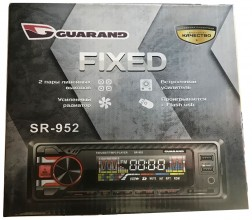 Автомагнитола Guarand SR-952 Fixed 2-USB red