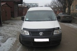 Дефлектор капота, мухобойка Volkswagen CADDY с 2004 г.в. VIP