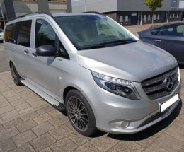 Пороги Mercedes Vito W447 2014- (Short, Long, ExtraLong) Almond (BMW-стиль)