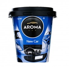 Ароматизатор Aroma Car Cup Gel 130g - NEW CAR