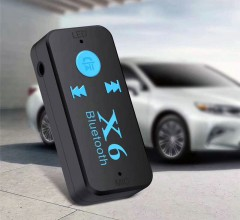 Bluetooth AUX аудио адаптер X6 Bluetooth Car Kit (Mini Jack 3,5 мм)