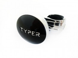 Ручка на руль Black Label Typer