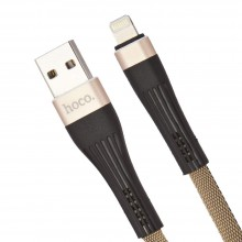 Hoco Кабель USB Hoco - U39 Lighting (1.2m) Gold+Black
