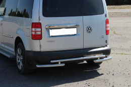 Задняя дуга на Volkswagen Caddy с 2004- (B1-10M d60мм)