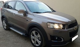 Пороги Chevrolet Captiva Almond (BMW-стиль)