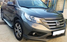 Пороги Honda CR-V 2012-2016 Almond (BMW-стиль)